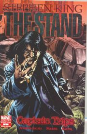 The Stand Captain Trips #1 Perkins Retail Incentive Variant (2008) Stephen King Marvel comic book